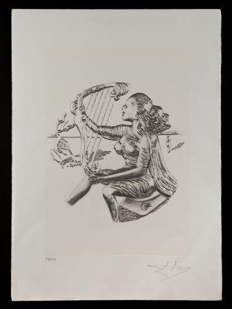 Litografía Dali - La música