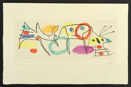 Grabado Miró - La Magie Quotidienne