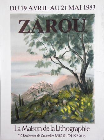 Litografía Zarou - La Maison de la Lithographie
