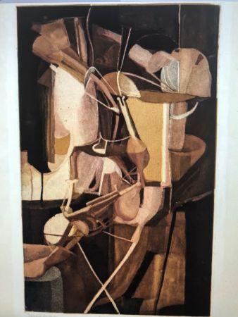 Aguatinta Duchamp -  La Mariéé