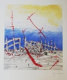 Aguafuerte Y Aguatinta Tacla - La memoria