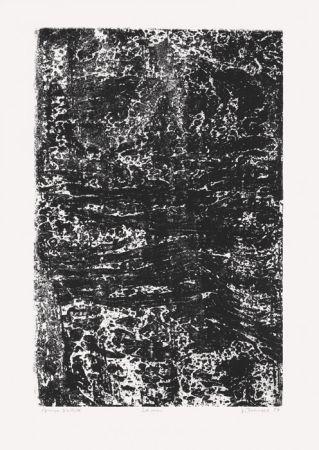 Litografía Dubuffet - La Mer (Phénomènes)