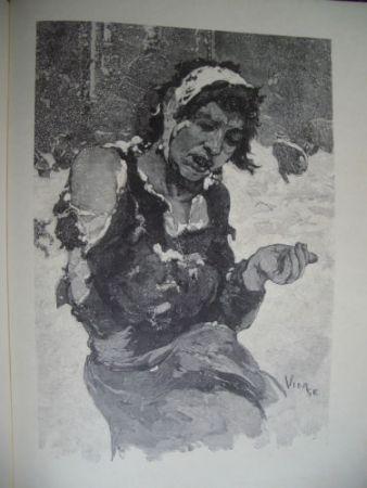 Grabado En Madera Vierge - La misère à Londres