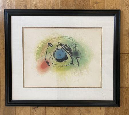 Aguafuerte Y Aguatinta Miró - La Musaraigne (