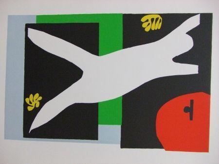 Litografía Matisse - La Nageuse dans l'aquarium