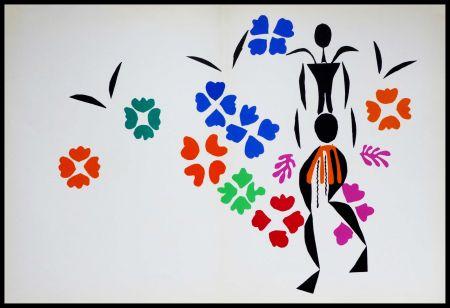Litografía Matisse (After) - LA NEGRESSE