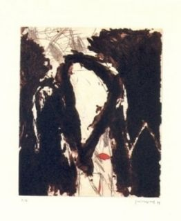 Grabado Guinovart - La nit