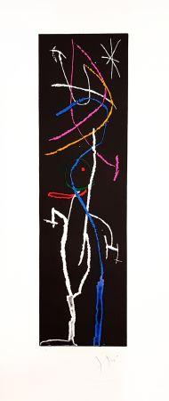 Grabado Miró - La Nuit Étroite
