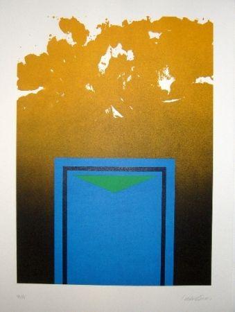 Litografía Lopez Osornio - La otra geometria 1