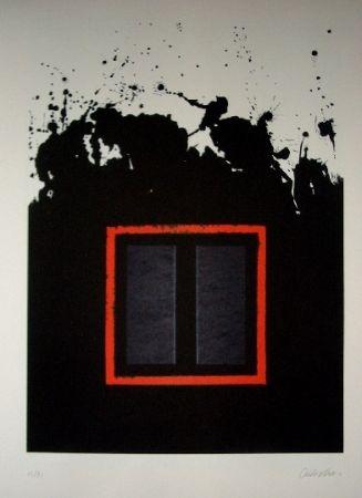 Litografía Lopez Osornio - La otra geometria 10