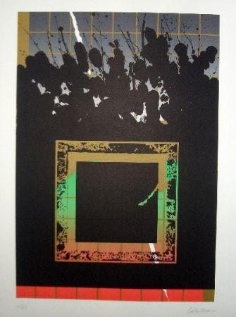 Litografía Lopez Osornio - La otra geometria 11