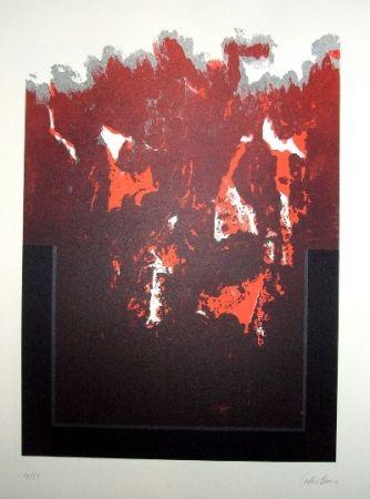 Litografía Lopez Osornio - La otra geometria 3