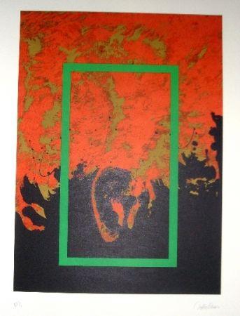 Litografía Lopez Osornio - La otra geometria 5