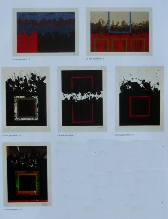 Litografía Lopez Osornio - La otra geometria _ 6 lithographs
