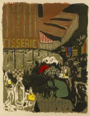 Litografía Vuillard  - La pâtisserie