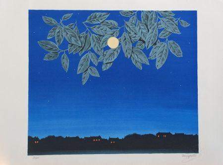 Litografía Magritte - La Page Blanche
