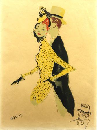 Litografía Domergue - La  Parisienne  La Belle Helene