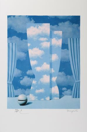 Litografía Magritte - La Peine Perdue (The Wasted Effort)