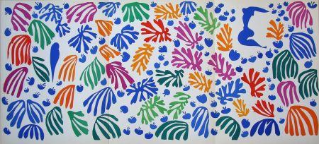 Litografía Matisse (After) - La perruche et la sirène - 1952