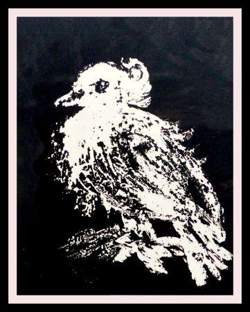 Litografía Picasso - LA PETITE COLOMBE