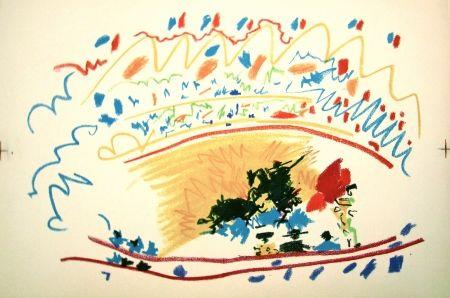 Litografía Picasso - La petite corrida