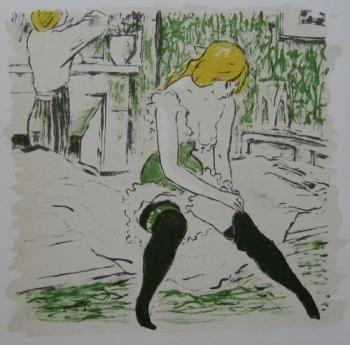 Libro Ilustrado Bonfils - La petite Jeanne pâle