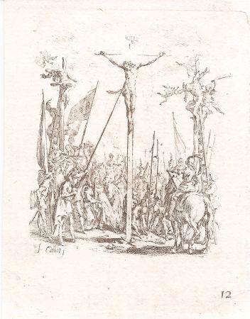 Grabado Callot - La petite passion (The Small Passion, complete set of 12 etchings)