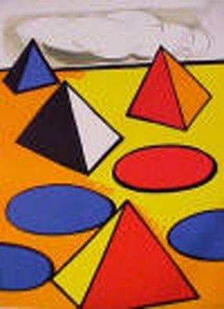 Litografía Calder - La Piege