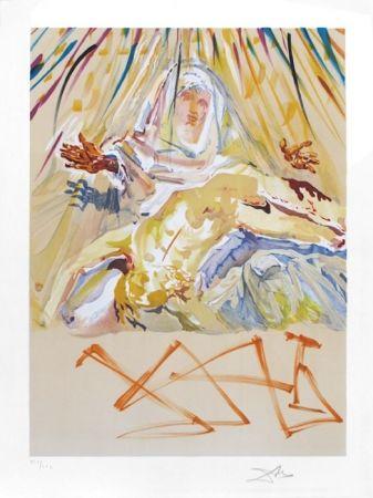 Litografía Dali - La Pieta Nera (Black Madonna)