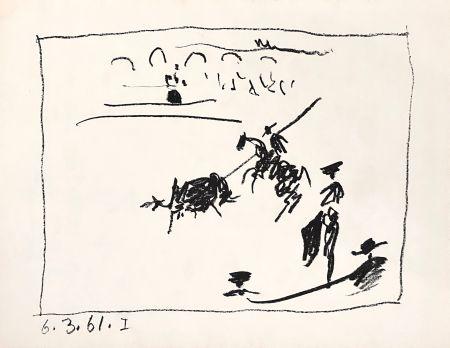 Litografía Picasso - La Pique