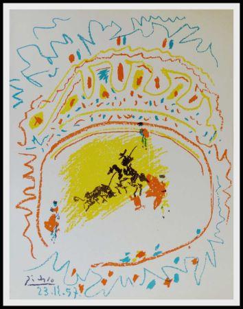 Litografía Picasso - La Pique (Corrida)