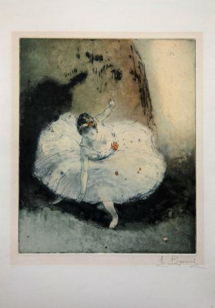 Aguafuerte Y Aguatinta Brouet - La pirouette