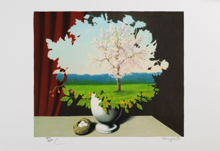 Litografía Magritte - La Plagiat