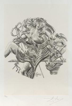 Litografía Dali - La poesía