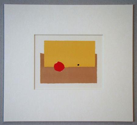 Litografía De Stael - La Pomme - 1952