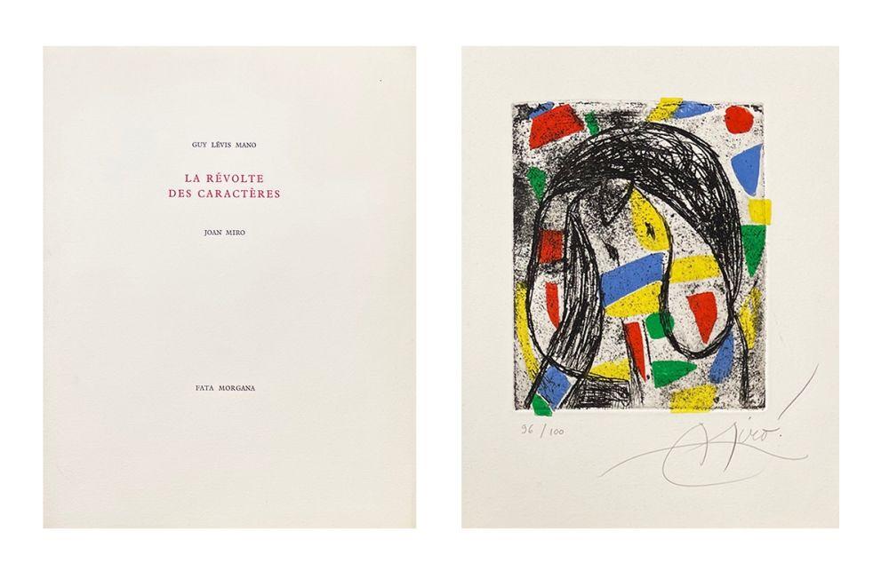 Libro Ilustrado Miró - La révolte des caractères