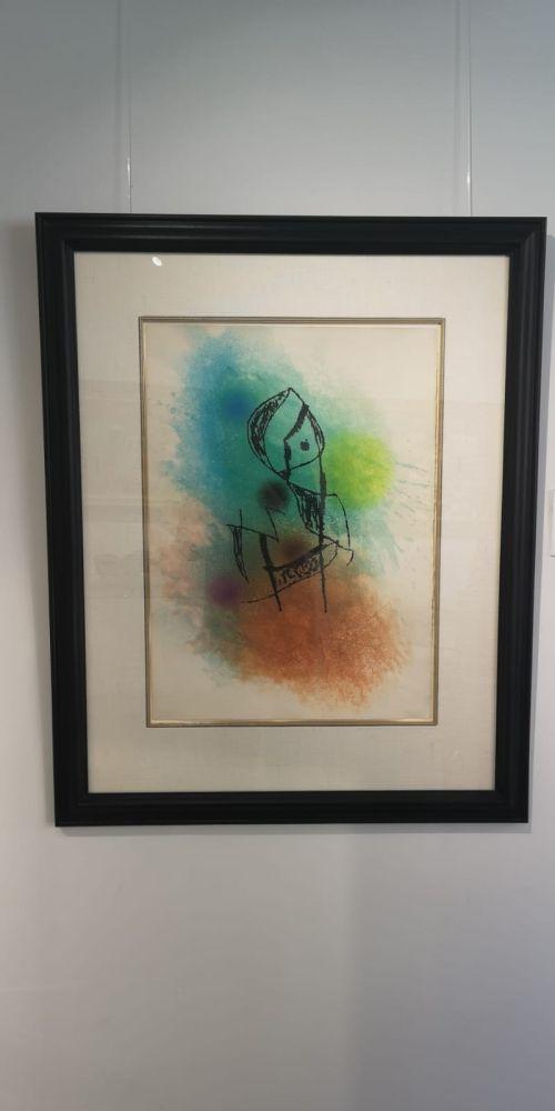 Aguafuerte Y Aguatinta Miró -  La Rainette