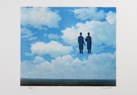 Litografía Magritte - La Reconnaissance Infinie (The Infinite Recognition)