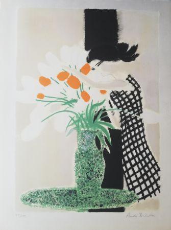 Litografía Brasilier -  La robe à carreaux