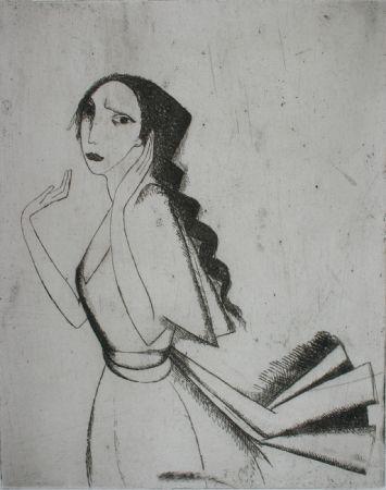 Grabado Laurencin - La Romance