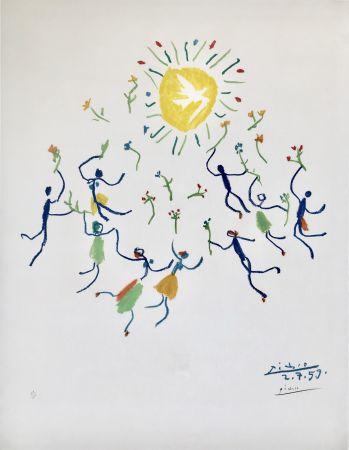 Litografía Picasso - La Ronde De La Jeunesse (Edition: 200)
