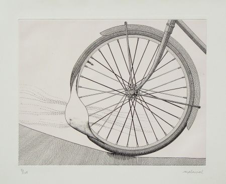 Aguafuerte Malaval - La roue