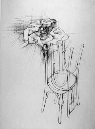 Aguafuerte Bellmer - La sedia