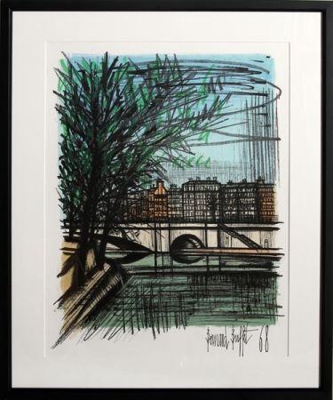 Litografía Buffet - La Seine