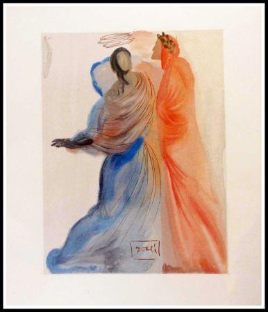 Grabado En Madera Dali - La splendeur de Béatrice