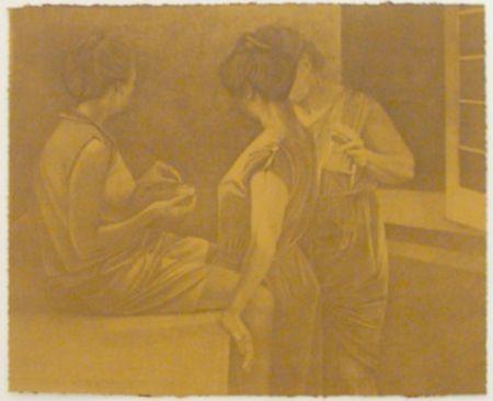 Litografía Baxter - La Stirairce