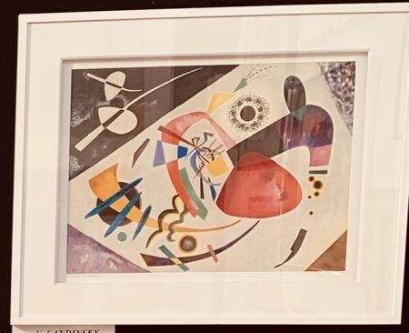 Litografía Kandinsky - La tâche rouge