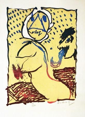 Litografía Alechinsky - LA TAILLE DOUCE