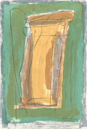Litografía Ràfols Casamada - La tardor 3 / Autumn 3
