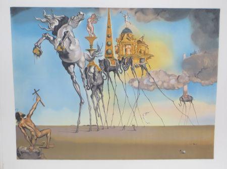 Litografía Dali - La tentation de st Antoine